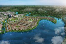 Thế đất đặc biệt của đô thị Đảo Phượng Hoàng tượng trưng cho sự trù phú, thịnh vượng